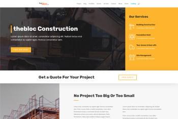 Construction Company Demo
