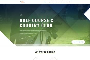 Golf Course Demo