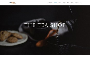 Tea Shop Demo