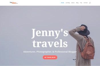 Travel Blog Demo